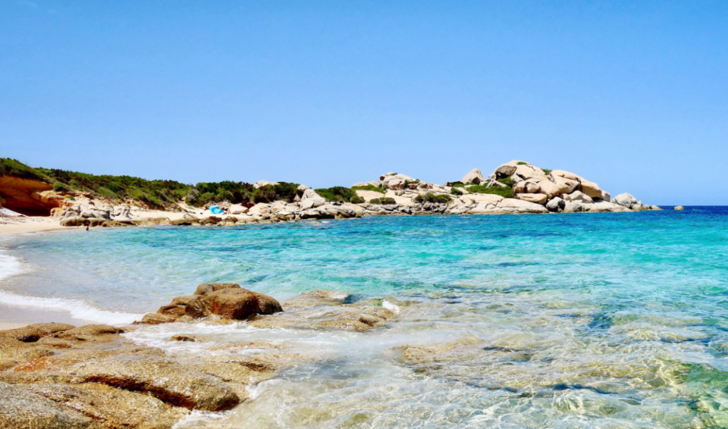 Spiaggia Cala Andreani Sardegna